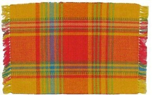 Sunrise 100% Cotton 18 Placemat (Set of 6) by Traders and Company